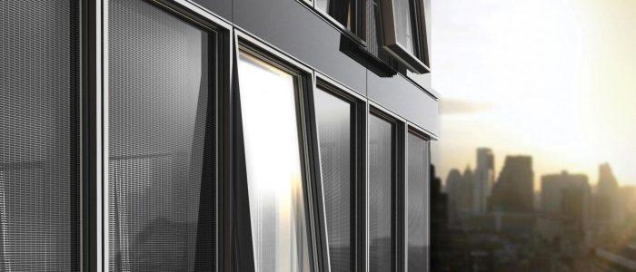 fenêtre alu, aluminium